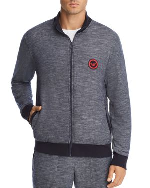 LOUNGEWEAR ZIP SWEATSHIRT