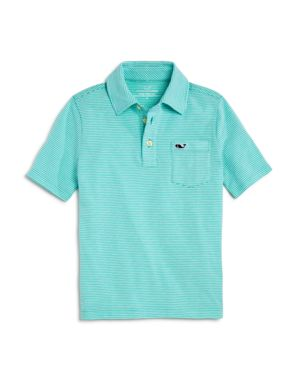 Vineyard Vines Boys' Striped Edgartown Polo - Little Kid, Big Kid