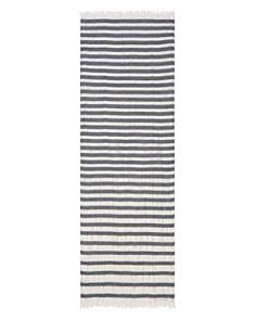 Emporio Armani Zig Zag Stripe Scarf - Bloomingdale's_0