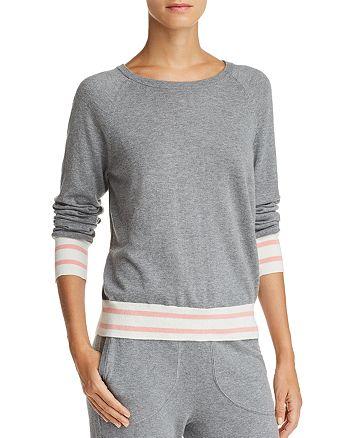 Equipment - Axel Striped-Trim Sweater