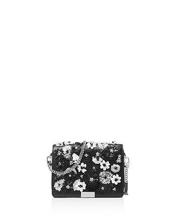 MICHAEL Michael Kors - Jade Medium Leather Gusset Clutch