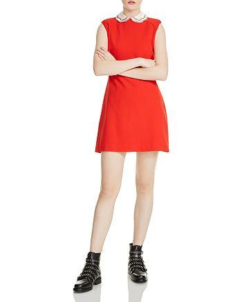 Maje - Rangat Peter Pan Collar Mini Dress