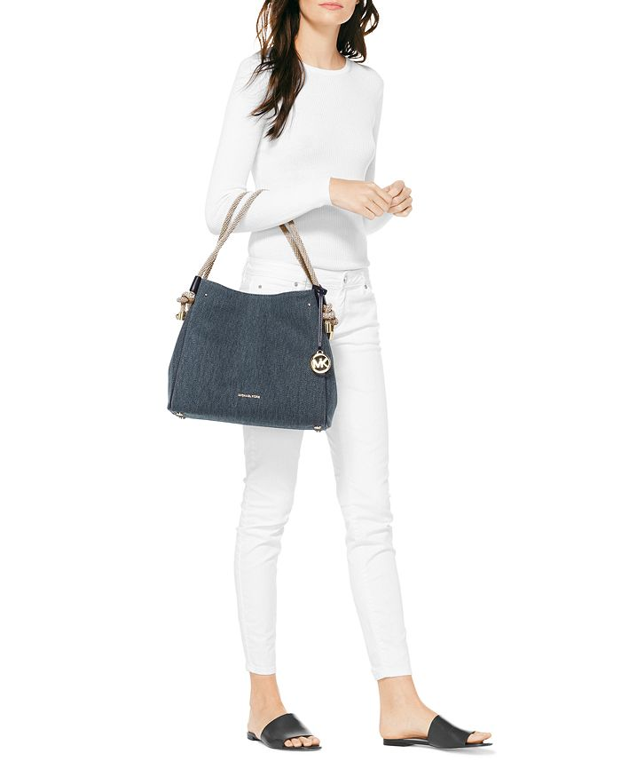 291646f6e97fe MICHAEL Michael Kors - Isla Canvas Bucket Bag