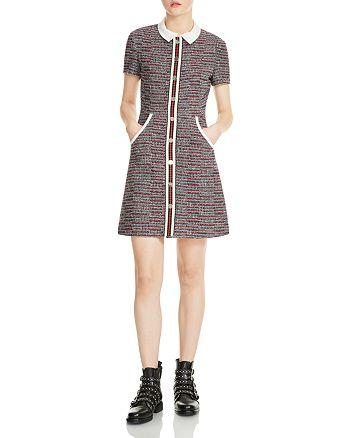 2e3493635e8 Maje - Renatelle Mini A-Line Shirt Dress