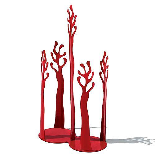 "Alessi - ""Mediterraneo"" Paper Cup Holder, Red"