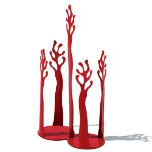 Alessi Mediterraneo Paper Cup Holder, Red