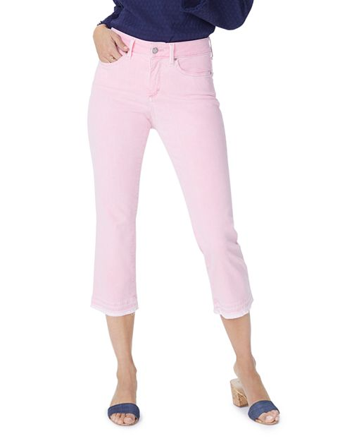 NYDJ - Released Hem Skinny Capri Jeans in Primrose