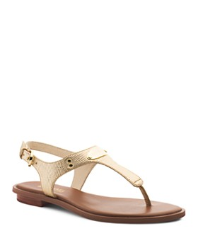 MICHAEL Michael Kors - Women's MK Plate Thong Sandals