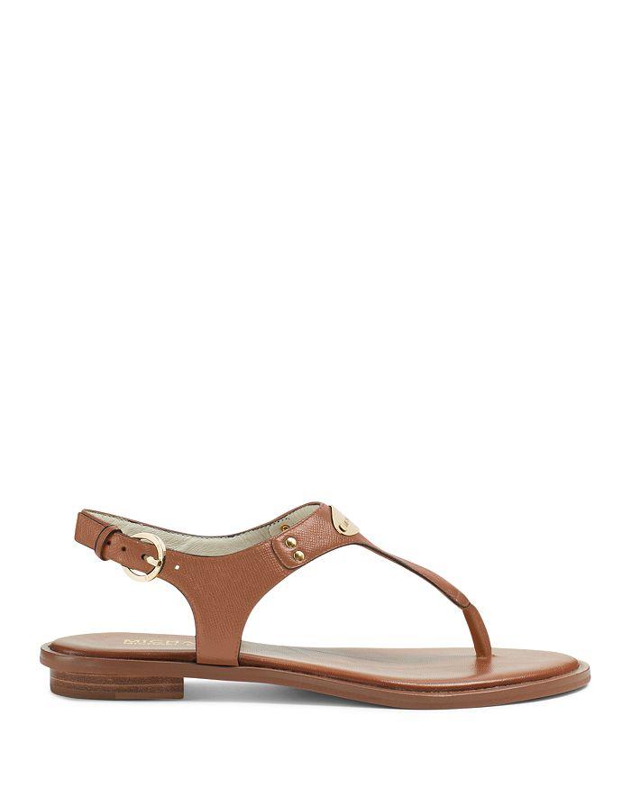 5dedf68c0be0 MICHAEL Michael Kors - Women s MK Plate Thong Sandals