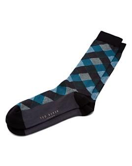 Ted Baker - Shiftie Geo Socks