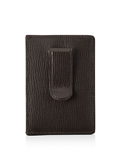 Tumi - Monaco Leather Money Clip Card Case
