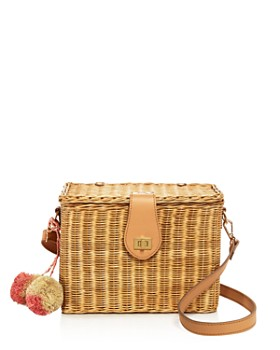 KAYU - Aletta Straw Tote - 100% Exclusive