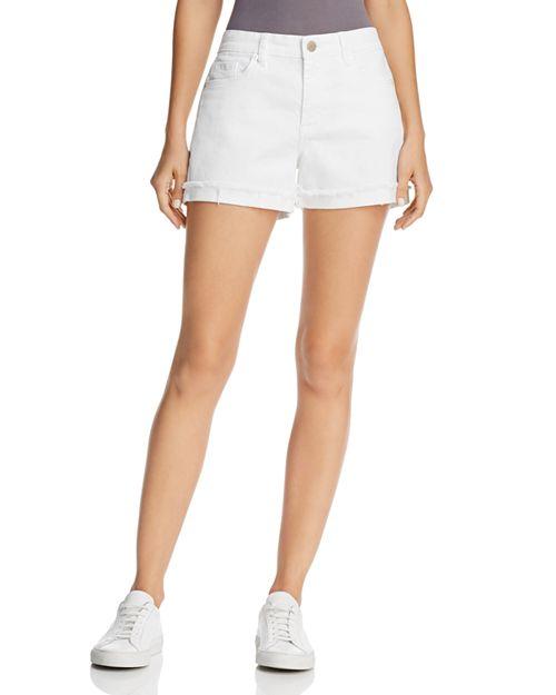 BLANKNYC - Cuffed Denim Shorts in Greate White