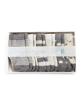 Elegant Baby - Classic Gray Socks, 6 Pack - Baby