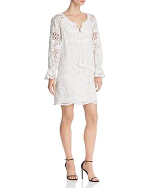 60s Mod Clothing Outfit Ideas Kobi Halperin Lace Silk Tunic Dress AUD 399.73 AT vintagedancer.com