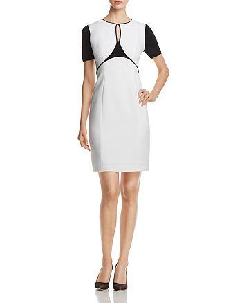 aec82cde8414d Elie Tahari Nixie Keyhole Sheath Dress | Bloomingdale's