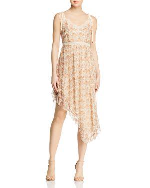 Paige Aubrey Asymmetric Floral Dress 2879920