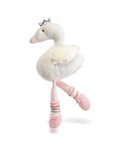 Elegant Baby - Swan Knittie Bittie Toy - Ages 6 Months+