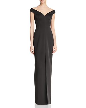 Bcbgmaxazria Off-the-Shoulder Gown - 100% Exclusive