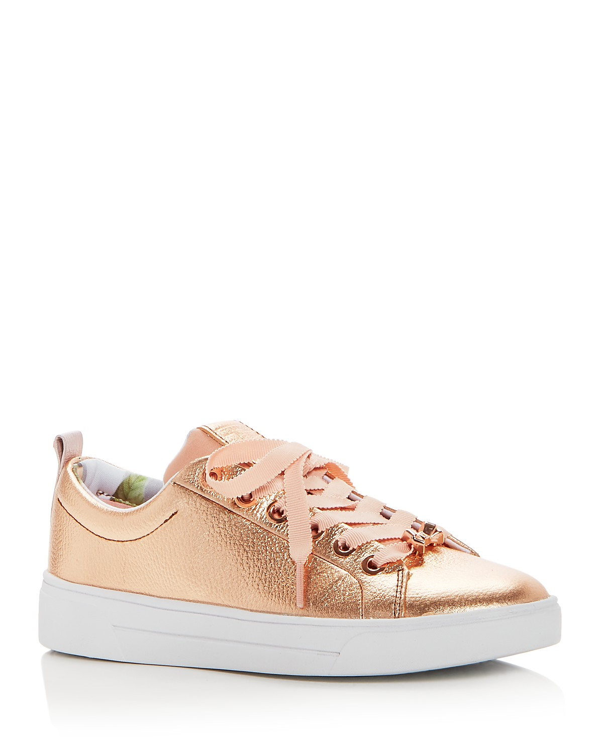 Ted Baker Women's Kellei Leather Lace Up Sneakers ZCpqYv9