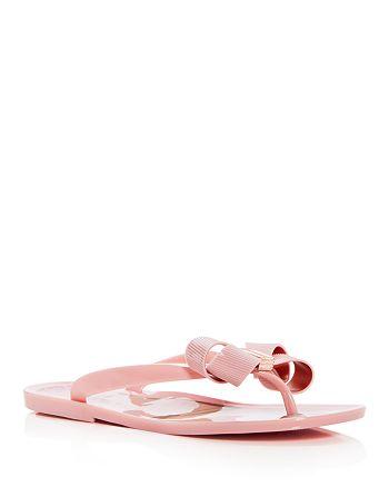 18ab446ba Ted Baker - Women s Susie P Bow Flip-Flops
