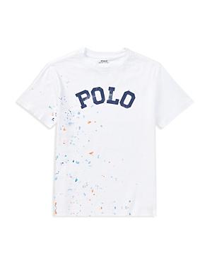 Polo Ralph Lauren Boys PaintSplattered Cotton Tee  Big Kid