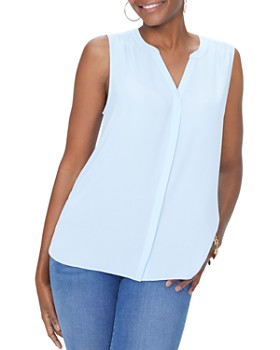 NYDJ - Pleat-Back Sleeveless Top