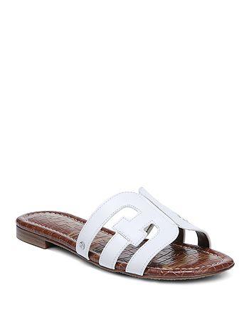 Sam Edelman - Women's Bay Leather Slide Sandals