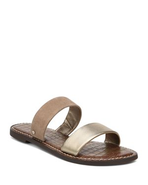 Sam Edelman Women's Gala Leather & Suede Slide Sandals 2895753