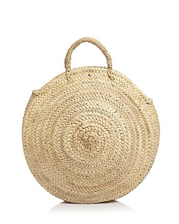 Caterina Bertini - Straw Circle Tote