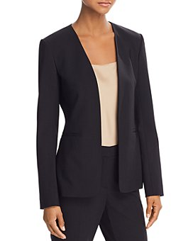 Theory - Isita Classic Stretch-Wool Blazer