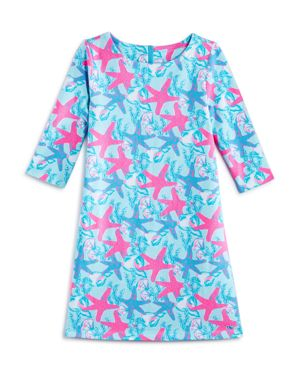 Vineyard Vines Girls' Starfish Shell Knit Dress - Big Kid 2894838