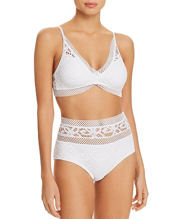 c91961fce7041 BECCA® by Rebecca Virtue - Captured Bikini Top & Captured High Waist  Bikini Bottom