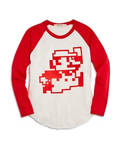 Junk Food Boys' Mario Nintendo Raglan Tee, Big Kid - 100% Exclusive - Bloomingdale's_0