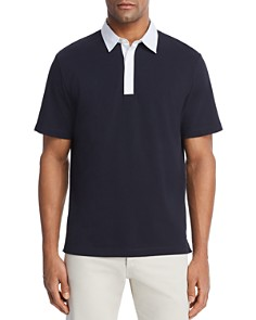 Theory Rugby Regular Fit Polo Shirt - Bloomingdale's_0