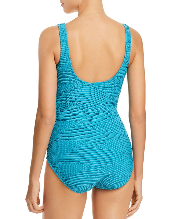 46add87971ec6 Gottex Essence Crossover V-Neck One Piece Swimsuit | Bloomingdale's