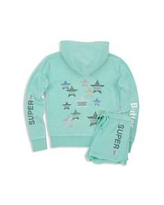 Butter Girls' Fleece Superstar Hoodie & Shorts - Big Kid - Bloomingdale's_0