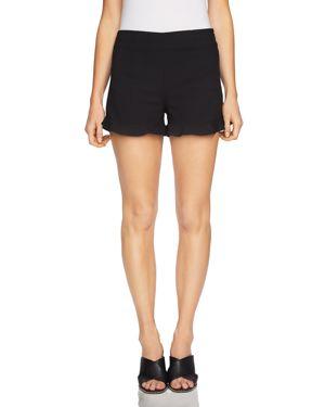 1.state Ruffle-Cuff Mini Shorts