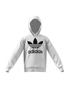 Adidas Girls' Trefoil Logo Hoodie - Big Kid - Bloomingdale's_0