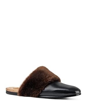 Gucci Faux Fur Slippers