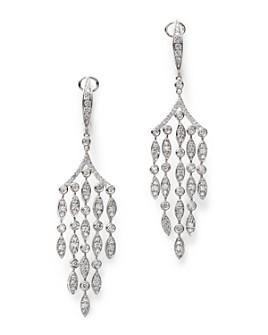 Bloomingdale's - Diamond Chandelier Drop Earrings in 14K White Gold, 1.60 ct. t.w. - 100% Exclusive