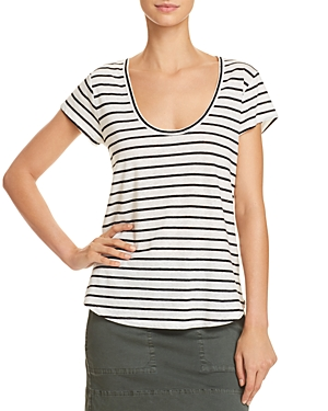 Theory Easy Striped Tee