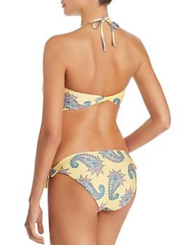 ISABELLA ROSE - Little Havana Tie Front Bandeau Bikini Top & Side Tie Maui Bikini Bottom