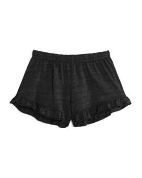 So Nikki... - Girls' Ruffled Shorts - Big Kid
