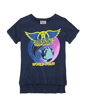 Junk Food Girls Aerosmith World Tour Tee  Big Kid