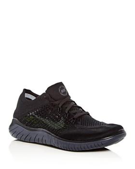 Nike - Men's Free RN Flyknit Lace Up Sneakers
