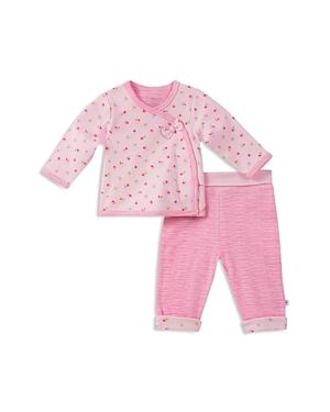 Absorba Girls' Take Me Home Floral-Print Top & Striped Pants Set - Baby