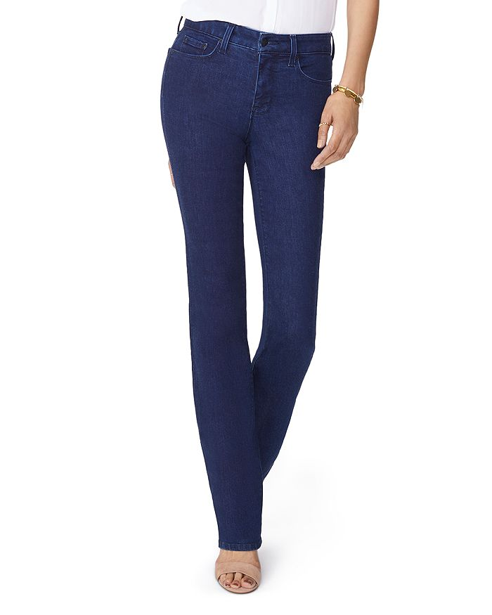 NYDJ - Marilyn Straight Jeans in Rinse