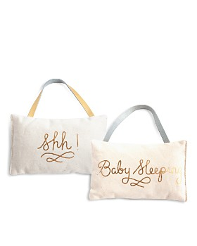 Rosanna - Shh! Baby Sleeping Door Pillow