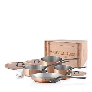 Mauviel M'150C2 Copper 7-Piece Cookware Set